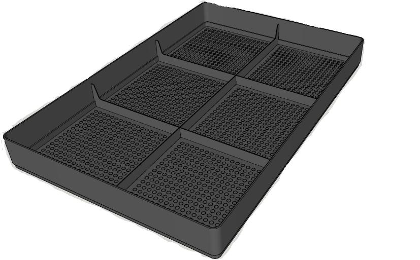 Canna tray