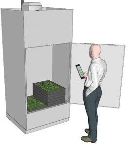 Drying Cabinet Door Man Lr 1 Cannabis Drying